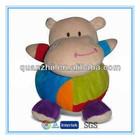 Custom baby toys china wholesale plush hippo