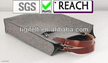 Popular Felt Shopping Bag Grey Felt Bag
