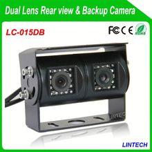 China supplier dual lens diy car parking sensor with led display for trucks
