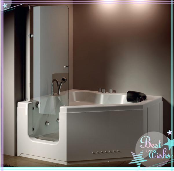 Promotional corner shower bathtub combo buy corner shower - Handicap bathtub shower combo ...