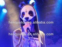 Hand Made Venetian Masquerade Carnival Costume Fantastic Latex Cro Panda Mask