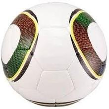 Soccer Ball in White & Green Color
