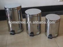 2014 round stainless steel waste paper bins