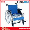 karma sedia a rotelle in alluminio
