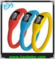 Mais baratos melhor presente da promoção relógio digital componentes, logotipo personalizado pode ser imprimido