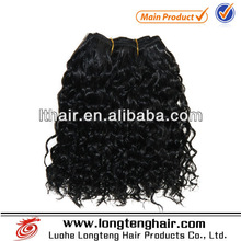 Most beautiful virgin peruvian afro jerry curl hair weave