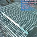 Por inmersión en caliente galvanizado profundo de rejilla abierta suelo, de acero galvanizado paso de