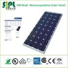 Portable Compact Solar System! 100 Watt Monocrystalline Solar Panel