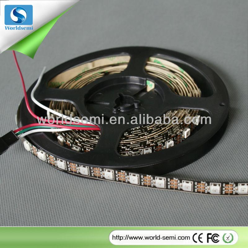 Addressable black pcb board 5050RGB Black pcb led strip light