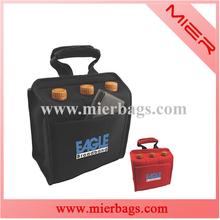 Neoprene 6 Pack Can/Wine Bottle Tote Bag