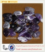 Bulk wholesale natural amethyst tumbled stone