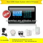Cheap GSM wireless Voice alarm system with LCD Display and Keypad (YL-007M2BX)