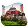 Higa Sophia,Istanbul,Turkey,Resin 3D fridge magnet