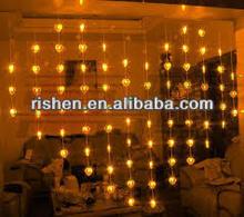 Heart Shape Lighting bedroom light decoration beaded light decoration for home
