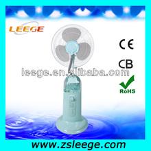 portable mini water spray mist fan