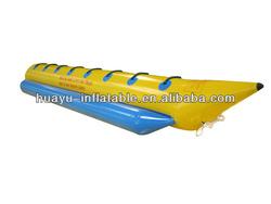 Single Tube Water Sports Banana Boat Yellow Water Sports Inflatable Banana Boat inflable+del+agua+banana+boat Banana Boat