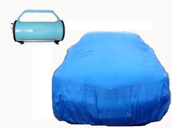 Automatically Installing & Folding Car Cover