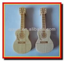 guitar shape wooden promotion 2gb usb flash 2.0,2gb usb flash drive, 2gb usb flash