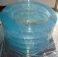 Pvc cortina de plástico transparente( liso ou com nervuras)
