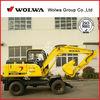 Mini backhoe excavator small hydraulic excavator 8000kg DLS880-9A