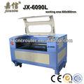 Jiaxin asetat levha markalama lazer kesme oyma makineleri jx-6090ls