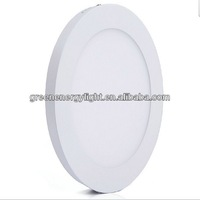 Zhong shan 6w 12w 15w Indoor round led panel light
