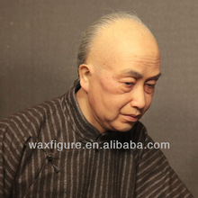 waxwork statue of china's famous calligrapher and painter waxwork statue