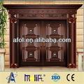 zhejiang afol de lujo puerta de cobre principal puerta de hierro