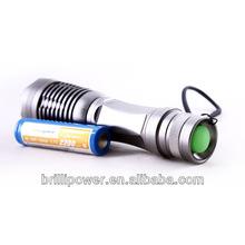 Ultrafire green led hunting flashlight high quality green led hunting flashlight most powerful green led hunting flashlight