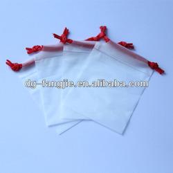 customized promotional mini drawstring bags