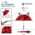 los niños divertido personaje de dibujos animados paraguas de diseño para los niños