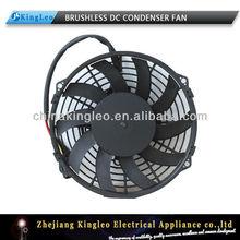 """9"""" 12v dc sin escobillas del ventilador del condensador"""