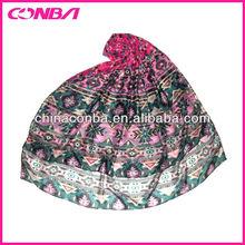 Fashionable geometric printed tribal lady scarf