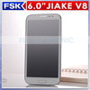 2014 hot sell JIAKE V8 octa core 6 inch smartphone MTK6592 8.0MP