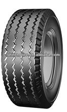 Truck tires rib pattern