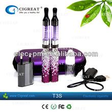 Popular E cigarette clearomizer changable new bottom coil design ego T3 ego c4 electronic cigarette wholesale