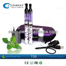 zero cigarette electronic e cigarette t3 changeable coil head T3 clearomizer