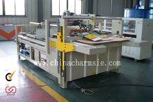 GIGA LXPM-307 Semi-automatic Carton Glue Machine carton board printing machine