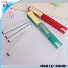 memo pad ball pens stionery set