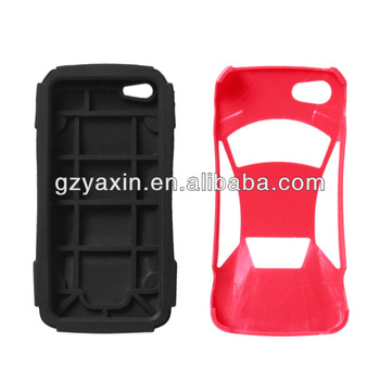SILICON new arrival mobile phone sport car case for iphone 5c 5s,for iphone 5c cellphone case