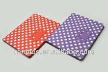 Book Wallet Polka Dot Skin Case Flip PU Leather Stand Holder Case for iPad 2 3 4