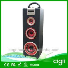 Multi-functional portable mp3/mp4 speaker