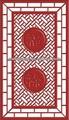 Hot vendre en amérique sculpté diviseur mdf panneaux muraux, style chinois, décoration intérieure& conception du mur
