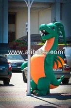 Inflatable fur costume Dragon 3m