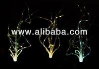Solar Grass Fiber Optic Lights, Color Change
