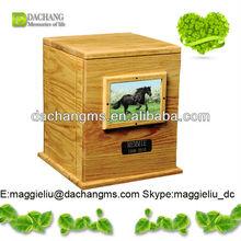 2015 funeral urns / new solid oak pet caskets on sale