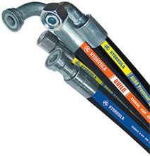 SAE 100 R2/EN853 2SN industrial steel wire reinforced hydraulic rubber hose