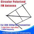 Fmuser circolare ellittica polarizzati audio costruire antenna fm doppio- attraversato cp100 per antenna fm trasmettitore fm 500w- rc1
