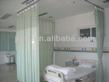 Flame retardant hospital cubicle curtain