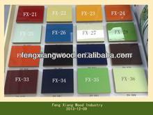 MDF beadboard/MDF evergreen/Akrilik MDF panel 20mm